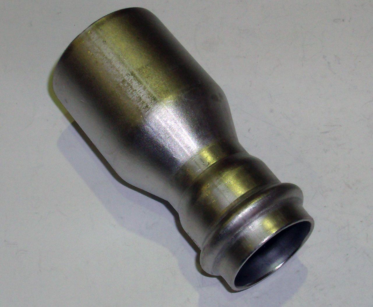 Муфта-вставка с SC-contur Sanpress Inox, VIEGA 2315.1, редукционная, нержавеющая сталь  42х28
