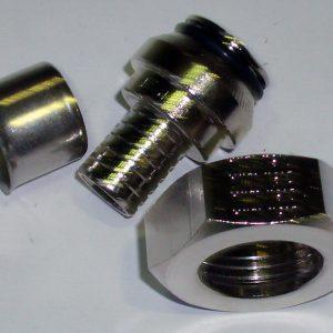 """Пресс-адаптер Pexfit Euroconus, для подключения радиаторов, латунь, никелированный, арт.2735  16 х 3/4"""""""