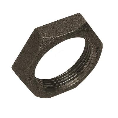 """Контргайка, чугунная, черная, SANHA, арт.310  1 ¼"""""""