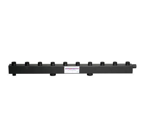 Коллектор для котельной обвязки, распределительный   КК-32М/125/50/ 5 контуров