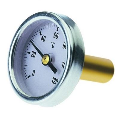 Термометр  (Италия), аксиальный, 27мм, Tmax 120°C, ICMA арт.206