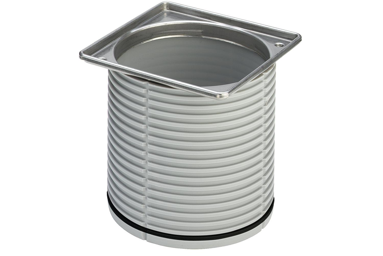 Рамка для установки решетки для трапа 100*100  Advantix с уплотнительным кольцом, VIEGA, арт.4949.1  50мм