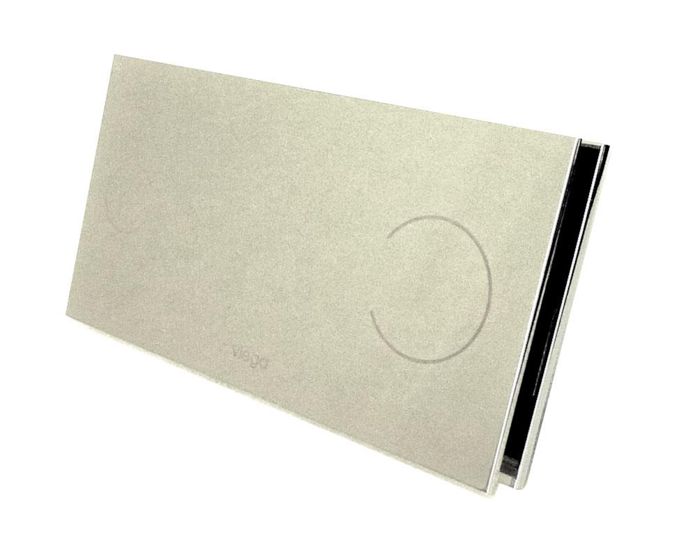 Кнопка смыва Visign for More 100 Viega 597436, металл, хромированная  271х140