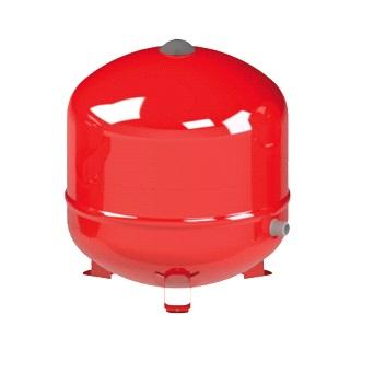 Бак расширительный, мембранный для ГВС CIMM ERE CE50, красный, арт.820050 50 литров