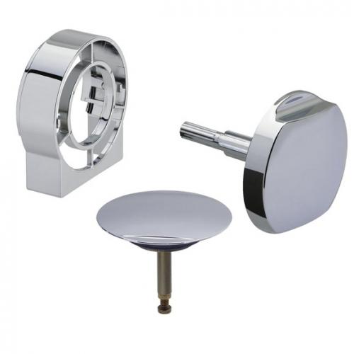 Комплект накладок Multiplex Trio Visign MT2  Viega 490683, металл, хромированная (верхняя/нижняя)
