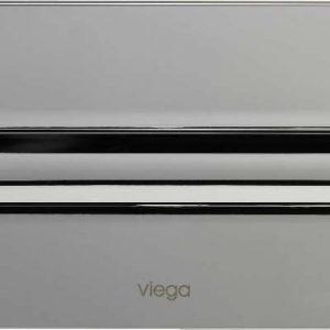 Кнопка смыва Visign for Style 11 Viega 597115, пластиковая, хромированная  271х140
