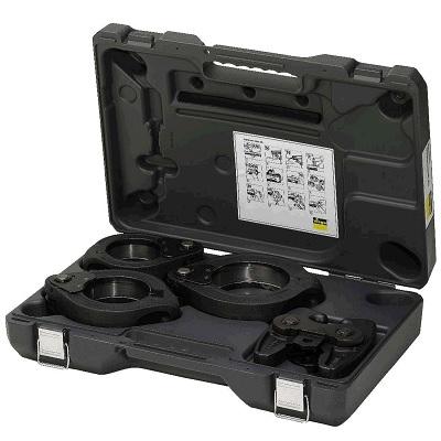 Набор пресс-насадок Z2 Profipress Inox XL, Viega 562854, в чемодане, фосфатированная сталь  76,1 - 108,0 мм