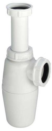 """Сифон бутылочный, Viega 137755, пластиковый  без патрубка и розетки  1 ¼""""х 40мм"""