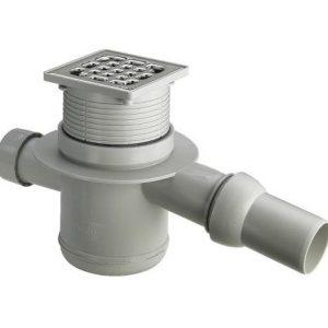 Трап для ванной комнаты Advantix 100*100, регулируемый по высоте, VIEGA, арт.4921.4  50мм