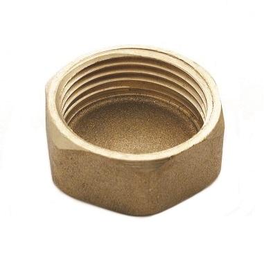 SOBIME заглушка-колпак, латунь, внутренняя резьба, артикул 44