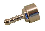 """Штуцер RASTELLI для сжиженнгого газа  (диаметр 8), ВР, Ру 8-37mbar, арт.192F 3/8"""""""