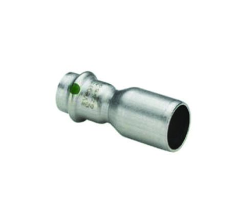 Муфта-вставка с SC-contur Sanpress Inox, VIEGA 2315.1, редукционная, нержавеющая сталь  28х15