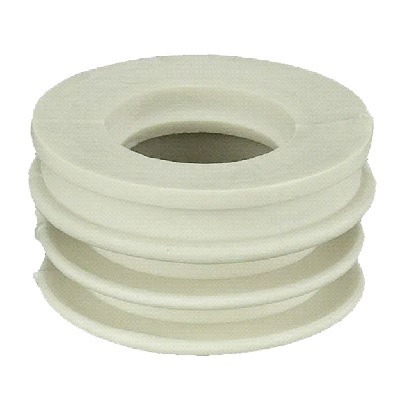 Манжета перех.резин., белая  50 х 40