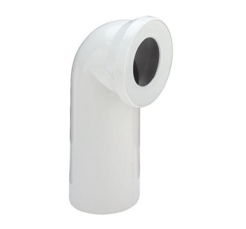 Отвод 90° для подключения унитаза VIEGA 100551, пластик  110 х 230