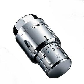 "Термоголовка ""Uni SH"", хромированная, Tmax 120°С, Траб 7-28°С, Oventrop, арт.1012069  М30х1,5"