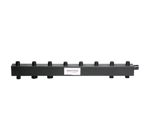 Коллектор для котельной обвязки, распределительный   КК-32М/125/50/ 4+1 контура