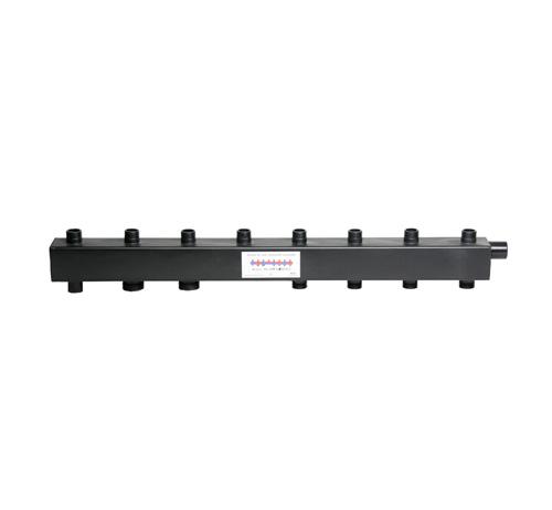 Коллектор для котельной обвязки, распределительный   КК-32М/125/50/ 4+2 контура