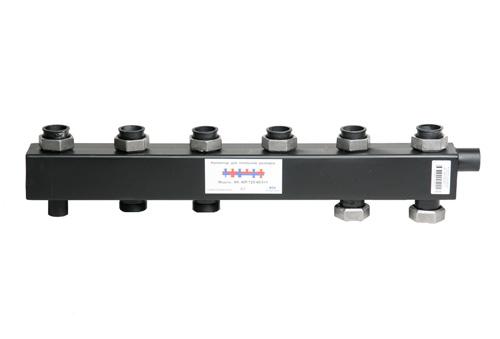 Коллектор для котельной обвязки, распределительный   КК-40F/125/40/ 3+1 контура