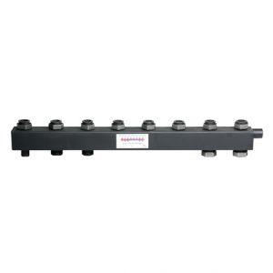 Коллектор для котельной обвязки, распределительный   КК-40F/125/40/ 4+1 контура