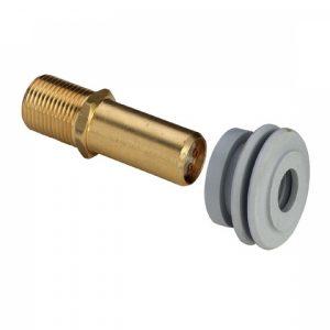 """Патрубок для подключения писсуара VIEGA 463007, с резиновой вставкой и обратным клапаном  1/2"""" х 45мм"""
