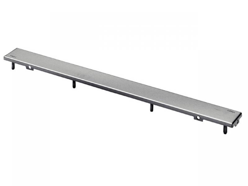 Дизайн решетка ER3 Advantix Viega 589493, для душевых лотков,  нержавеющая сталь, матовая  1000мм