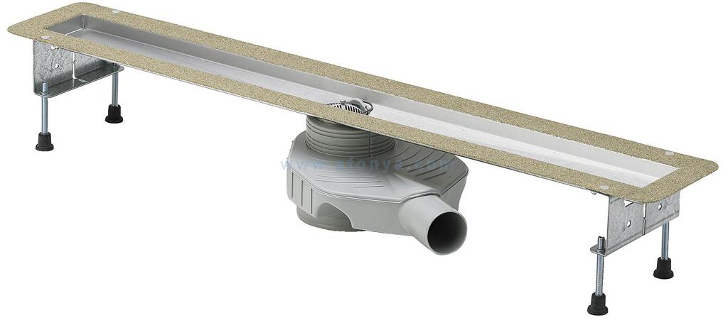 4980.10 Душевой лоток Advantix Basic Viega нержавеющая сталь  800мм
