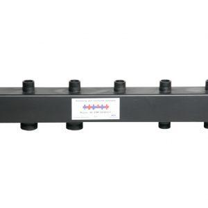 Коллектор для котельной обвязки, распределительный   КК-25М/125/40/3+2 контура