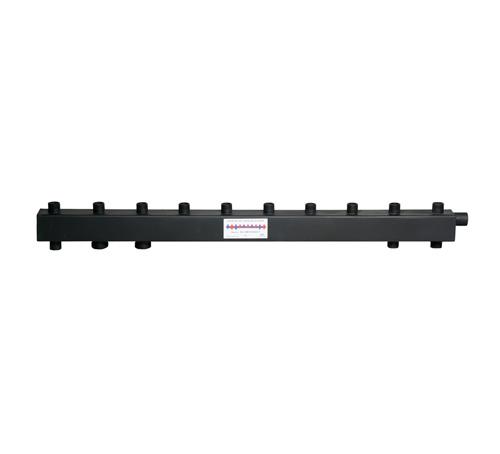 Коллектор для котельной обвязки, распределительный   КК-25М/125/40/5+1 контуров