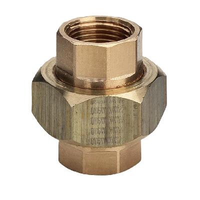 VIEGA cоединение резьбовое с плоским уплотнением, бронза, внутренняя резьба, артикул 3330