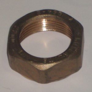 Гайка ВР, компрессионная, латунь, IMI, арт.678А  22