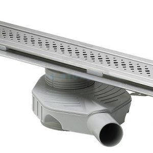 Душевой лоток Advantix с решеткой, Viega 619091 нержавеющая сталь, матовая  1200мм