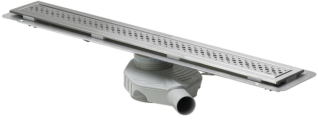 Душевой лоток Advantix с решеткой, Viega 619053 нержавеющая сталь, матовая  750мм