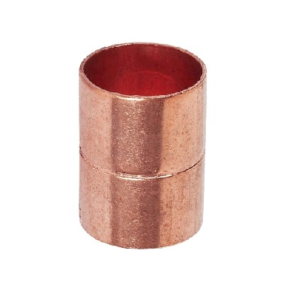 Муфта прямая, двухраструбная, медь, IBP, ВП, арт.5270   10