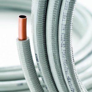 Труба медная, мягкая, в изоляции, WICU Flex HME 15х1.0