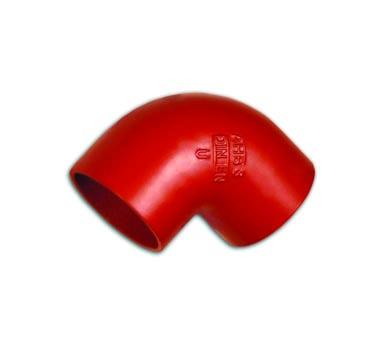 Отвод SML 88°, чугунный, АНВ, арт.011010088  100 мм