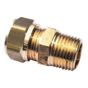 """Муфта компрессионная с НР, латунная, для Pe-X труб, General Fitting,арт.1N00.02  1/2""""х 15"""