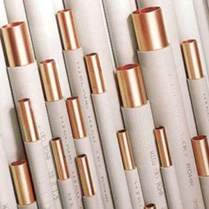 Труба медная, твердая, в изоляции, труба 1,5м, WEDNESBURY 28х1