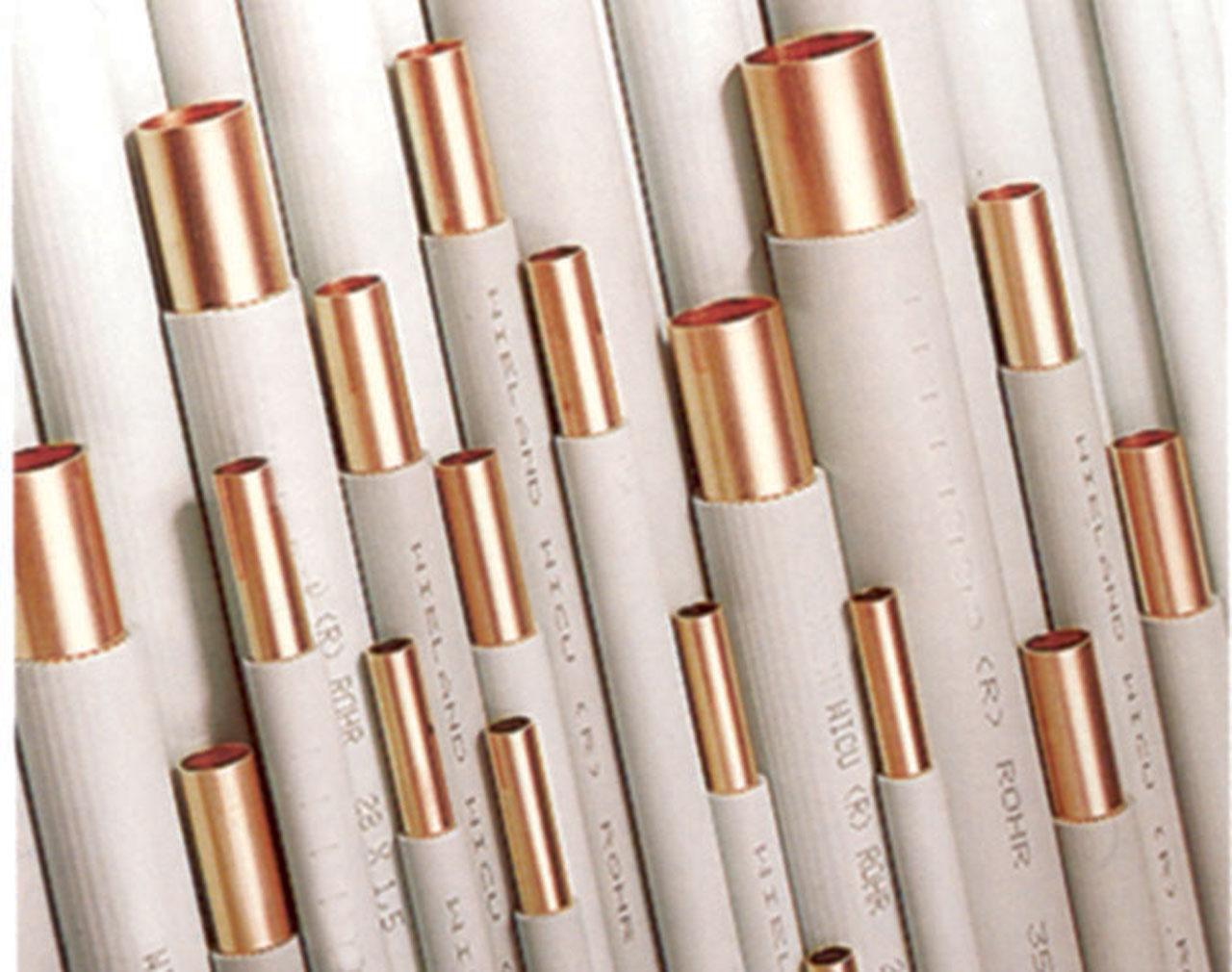 Труба медная, твердая, в изоляции, труба 2,5м, WEDNESBURY 42х1