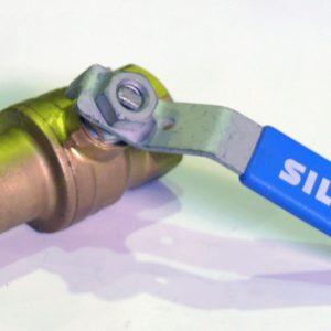 """Кран шаровый с обратным клапаном, ВP/ВР, удлиненный, стальной рычаг, РN50, латунный, ARCO, арт.М1290  1/2"""""""