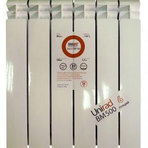 Радиатор биметаллический ALURAD Unirad CBM 500 / 8