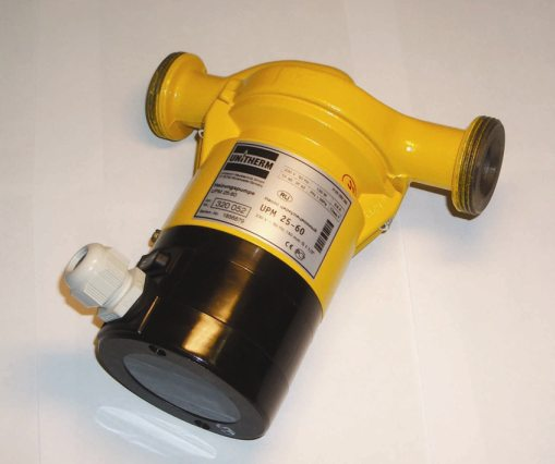 Циркуляционные насосы Unitherm UPM 25-40 без гаек, арт.320050