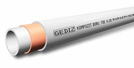 Труба полипропиленовая  армированная стекловолокном FIRAT  GEDIZ, белая, PN20, арт.7В00024020    20