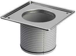 Рамка для установки решетки для трапа, 150*150,  Advantix с уплотнительным кольцом, VIEGA, арт.4949.1  50мм