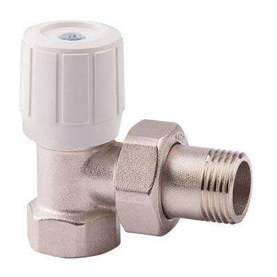 """(ICMA) 860 Клапан двойной регул. угл. д/желез.тр. 3/4""""(50)"""