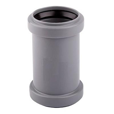 Муфта, ПВХ, серая,  канализационная  50 мм