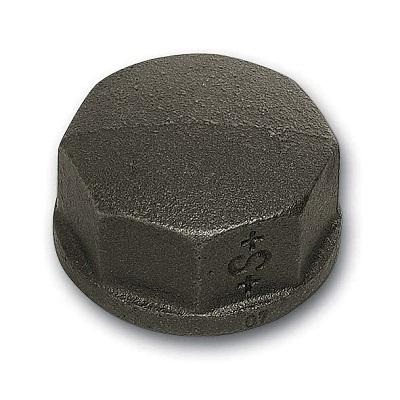 SANHA Заглушка-колпак под ключ внутренняя резьба, чугун черный, артикул 300