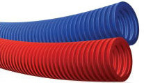 Гофра, красная, защитная, FIRAT, арт.7321000191К  19,5 мм