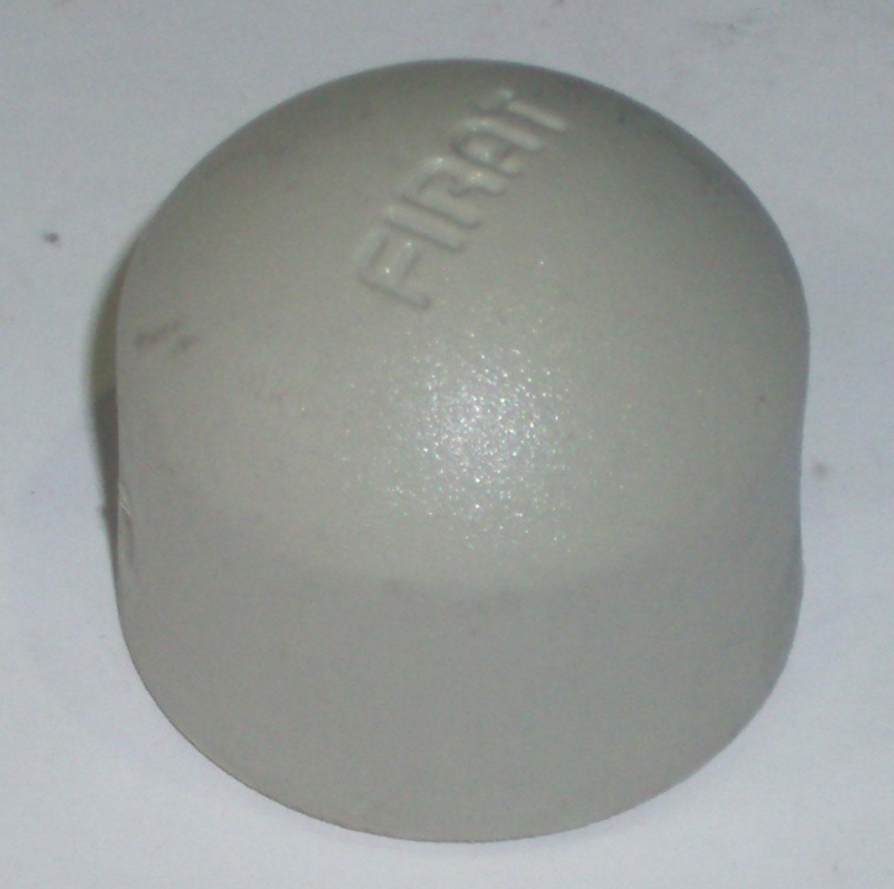Заглушка, колпак, полипропиленовая, серая, FIRAT(Турция), арт. 7731000025  25мм.