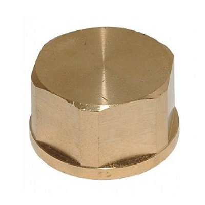 VIEGA заглушка-колпак, бронза, внутренняя резьба, артикул 3301