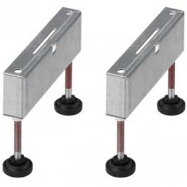 Опора монтажная для душевого лотка (до 900мм) Viega 619107, нержавеющая сталь (комплект 2 шт.)